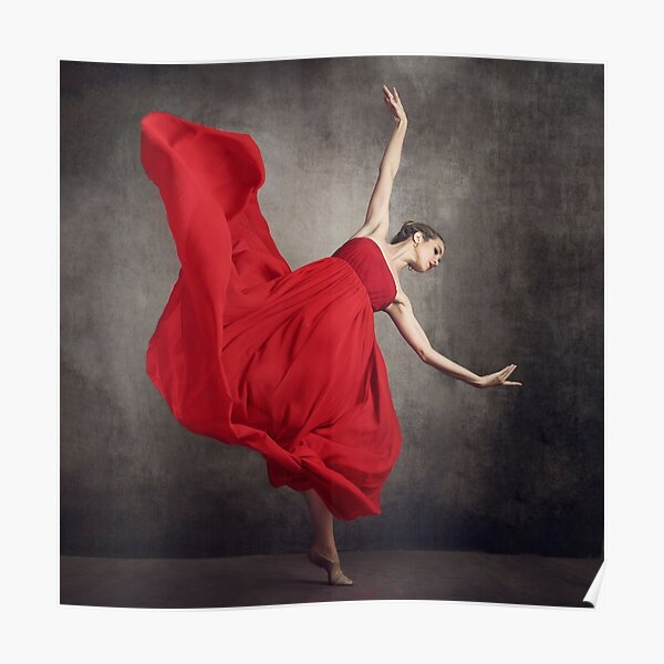 red is passion  Poster