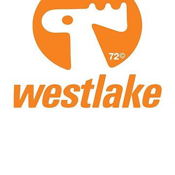 Orange Elk Logo T-Shirt by Westlake1972