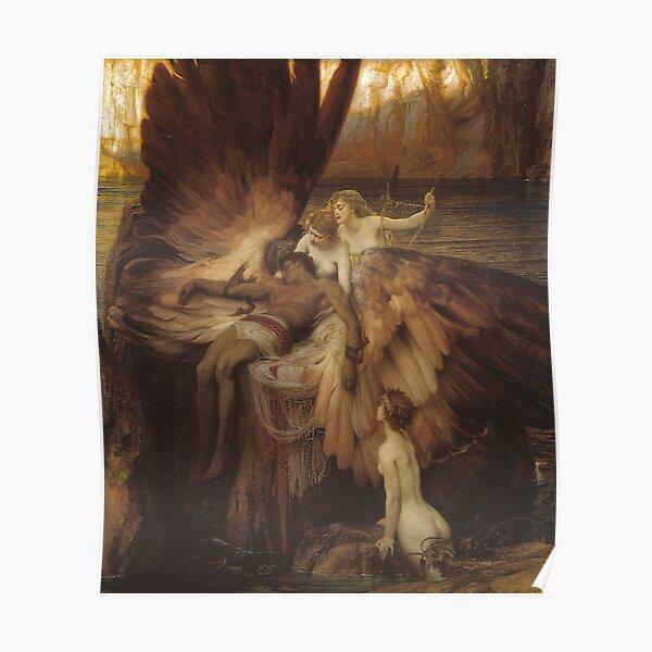 Herbert Draper - The Lament for Icarus Poster