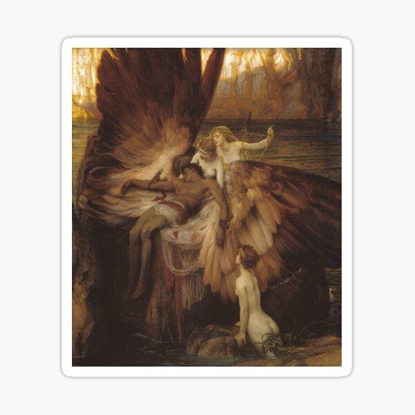 Herbert Draper - The Lament for Icarus Sticker