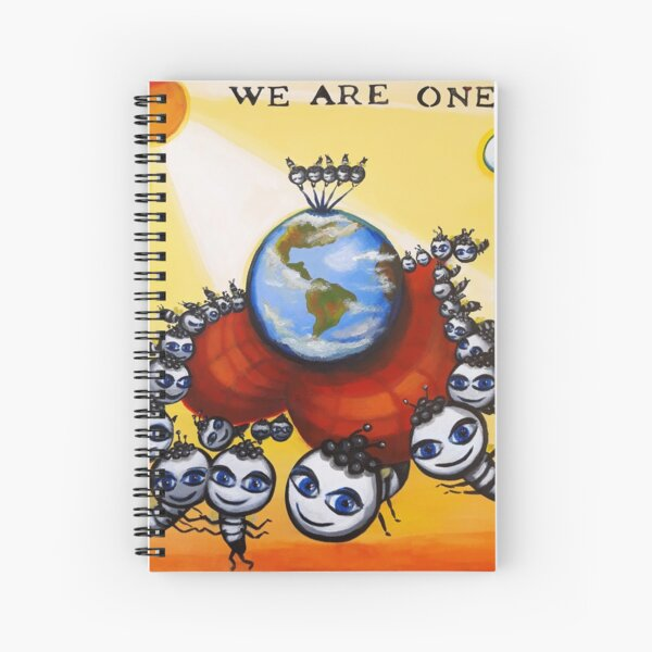 Somos uno Cuaderno de espiral