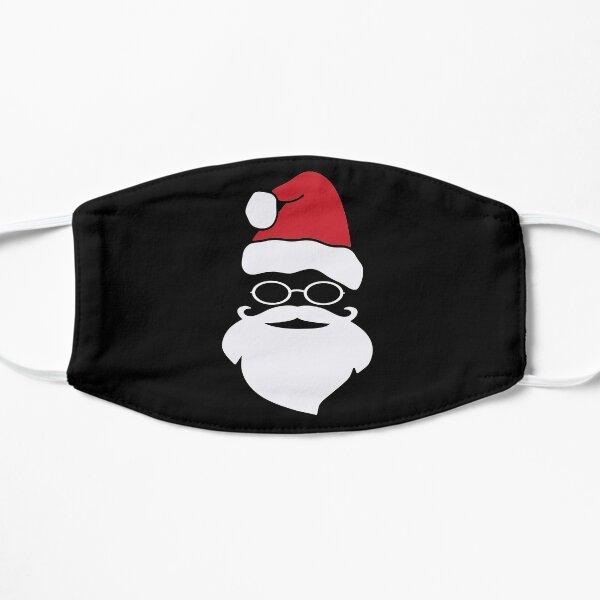 Santa Beard white Santa Claus Mustache COVI19 Merry Christmas Xmas Red Flat Mask