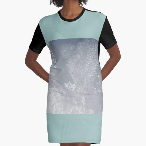 Snowflake Graphic T-Shirt Dress