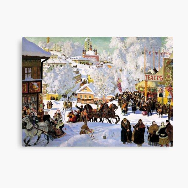 Maslenitsa - Boris Kustodiev Canvas Print