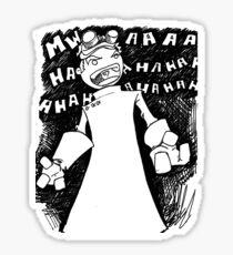 Doctor Horrible - Non Transparent Evil Laugh Sticker