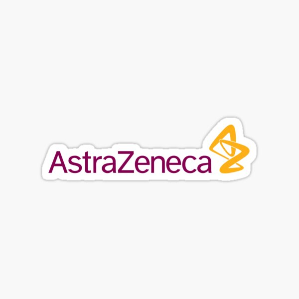 AstraZeneca Logo Sticker