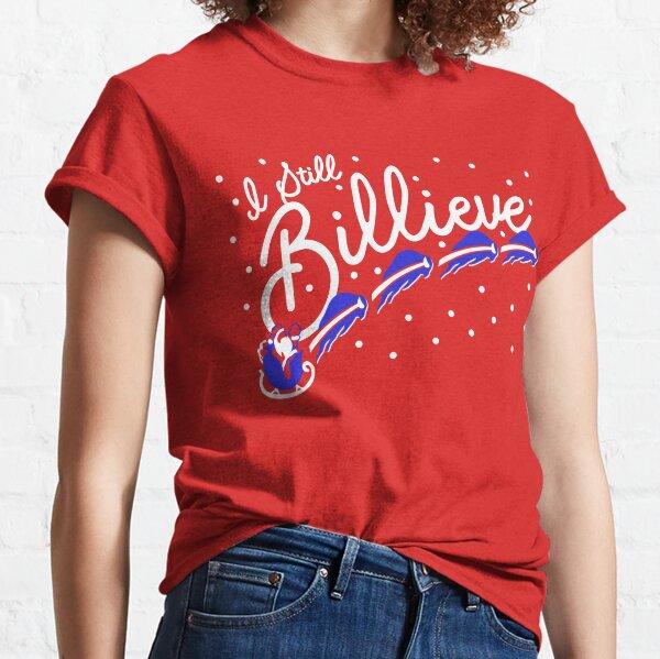 I Still Billieve! Buffalo Bills Christmas Santa Claus Classic T-Shirt