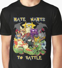 Natewantstobattle Graphic T-Shirt