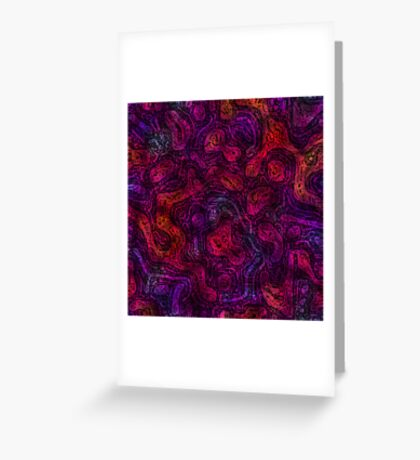 Magenta And Friends Greeting Card