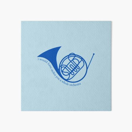 How I Met Your Mother - Blue French Horn - Te habría robado una orquesta completa Lámina rígida
