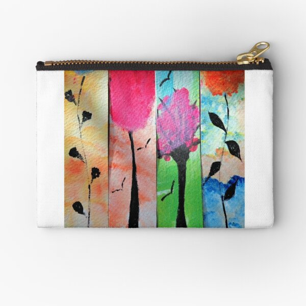 Nature in Color Zipper Pouch