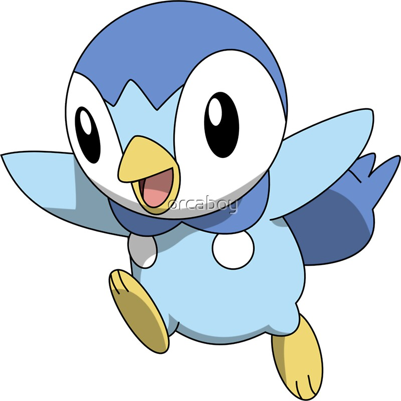 Piplup stickers redbubble - Evolution tiplouf ...