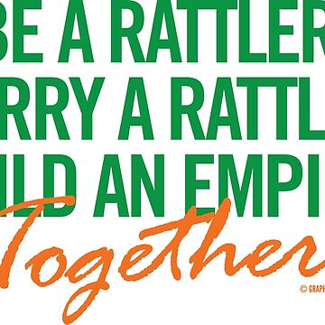Marry a Rattler Collection by Graphic Snob® by GraphicSnob