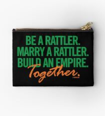 Marry a Rattler Collection by Graphic Snob® Studio Pouch