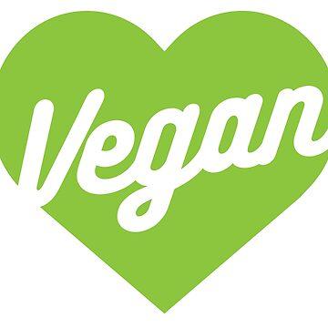 Vegan Heart by GlutenFreeGear
