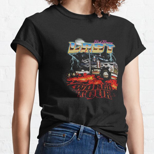 BAD BUNNY EL ULTIMO TOUR DEL MUNDO Camiseta clásica