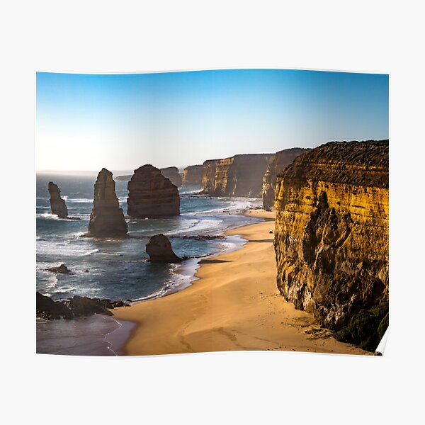 12 Twelve Apostles Beach Nature Australia Holiday Gift Poster