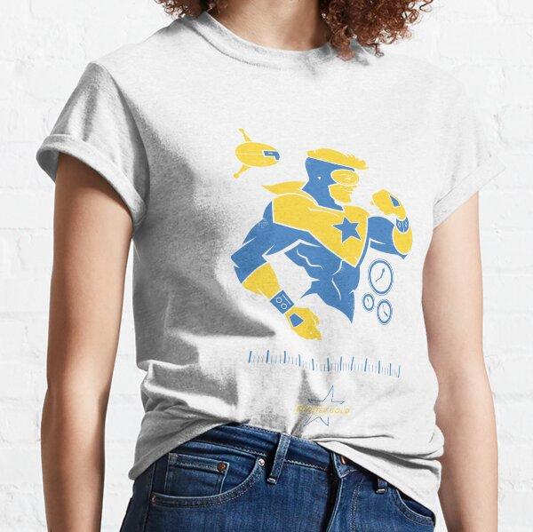 Booster Gold - DC Superhero Profiles Classic T-Shirt