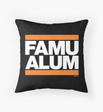 FAMU Alum Collection by Graphic Snob® Throw Pillow