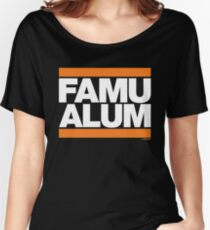 FAMU Alum Collection by Graphic Snob® Women's Relaxed Fit T-Shirt