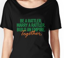 Marry a Rattler Collection by Graphic Snob® Women's Relaxed Fit T-Shirt