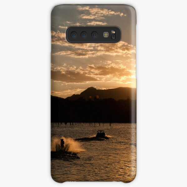 Riding Into the Sunset Samsung Galaxy Snap Case