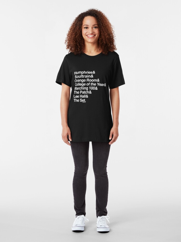 Alternate view of The Set Collection by Graphic Snob® Slim Fit T-Shirt
