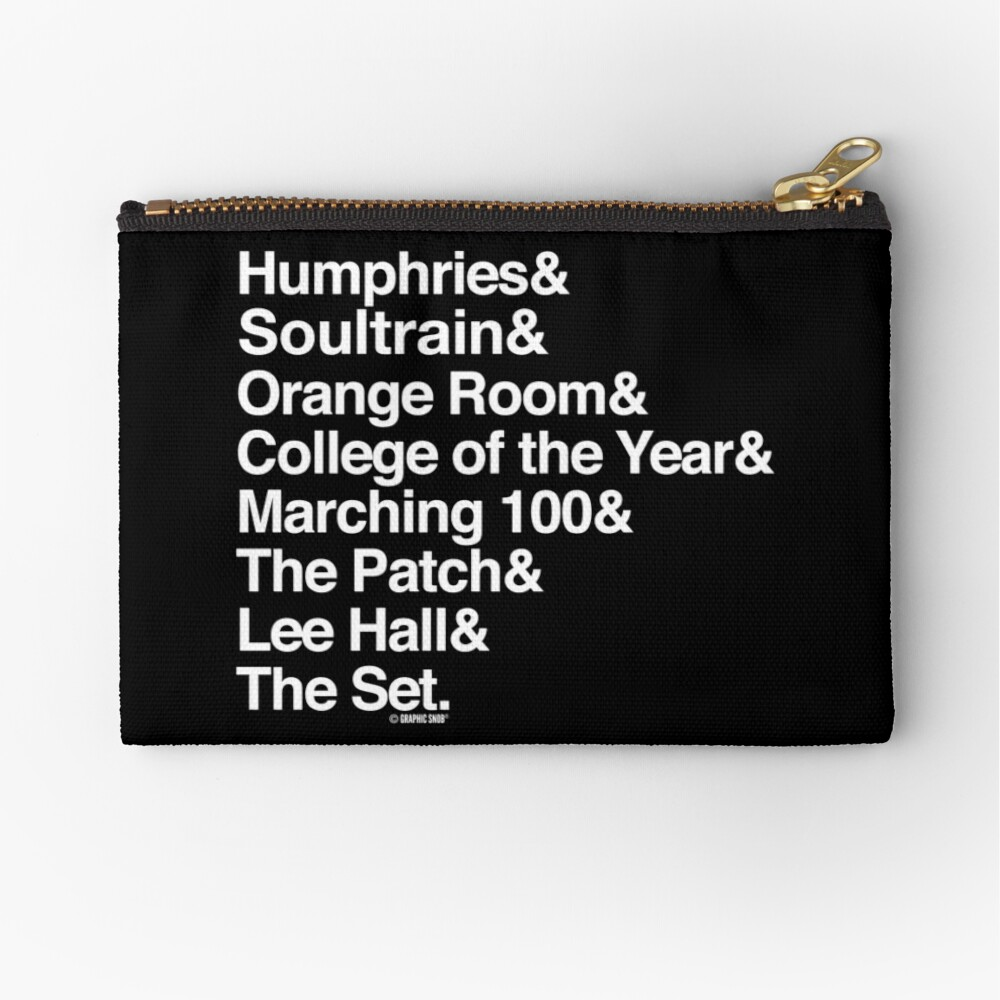 The Set Collection by Graphic Snob® Zipper Pouch
