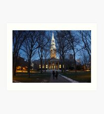 Harvard Memorial Church  Art Print