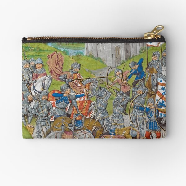 Medieval Knights Zipper Pouch