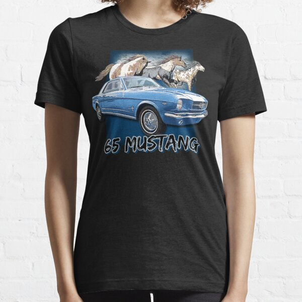 Vintage 65 Mustang Hot Rod 60s Classic Essential T-Shirt