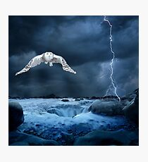 Stronger than the storm Photographic Print