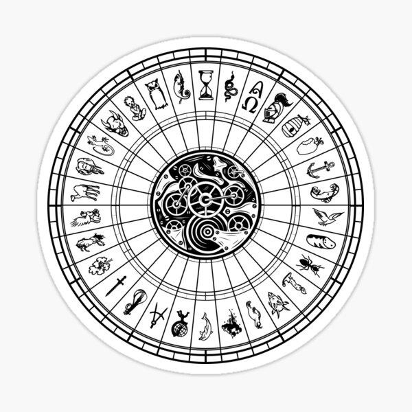 Symboles de l'aléthiomètre Sticker