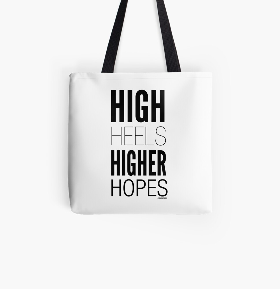High Hopes Collection by Graphic Snob® All Over Print Tote Bag