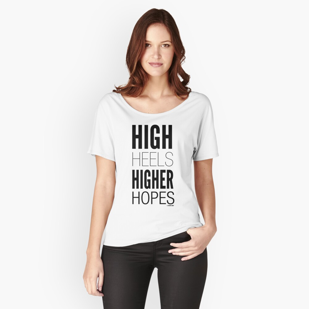 High Hopes Collection by Graphic Snob® Relaxed Fit T-Shirt