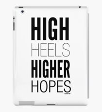 High Hopes Collection by Graphic Snob® iPad Case/Skin