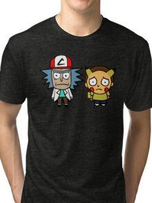 Rick and Mortychu Tri-blend T-Shirt