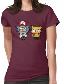 Rick and Mortychu Womens Fitted T-Shirt