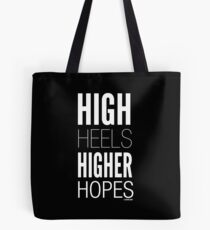 Dark High Hopes Collection by Graphic Snob® Tote Bag