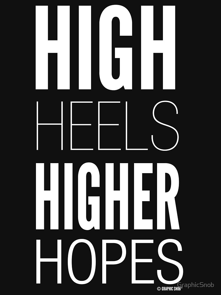 Dark High Hopes Collection by Graphic Snob® by GraphicSnob