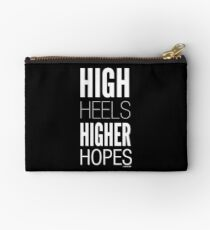 Dark High Hopes Collection by Graphic Snob® Studio Pouch