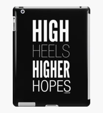 Dark High Hopes Collection by Graphic Snob® iPad Case/Skin