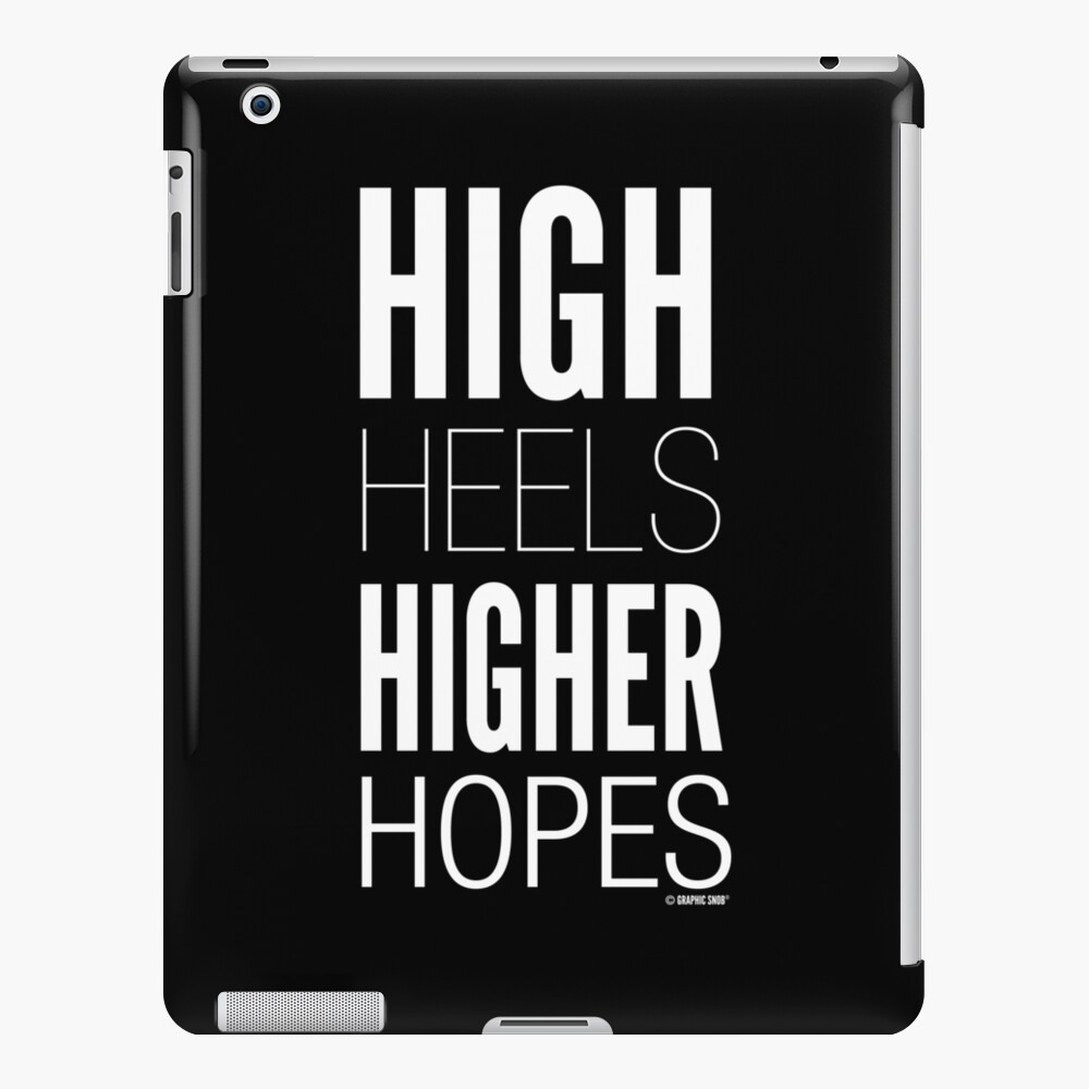 Dark High Hopes Collection by Graphic Snob® iPad Snap Case