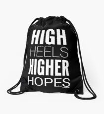 Dark High Hopes Collection by Graphic Snob® Drawstring Bag