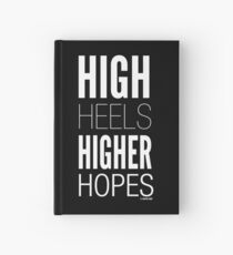 Dark High Hopes Collection by Graphic Snob® Hardcover Journal