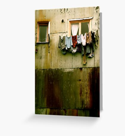 Out to Dry (Crop) Greeting Card