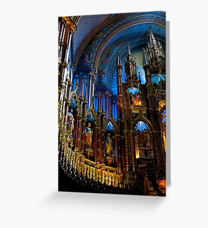 L'Eglise Notre Dame (Montreal) Greeting Card