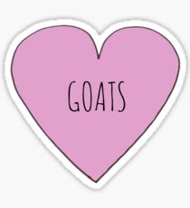 GOAT LOVE Sticker