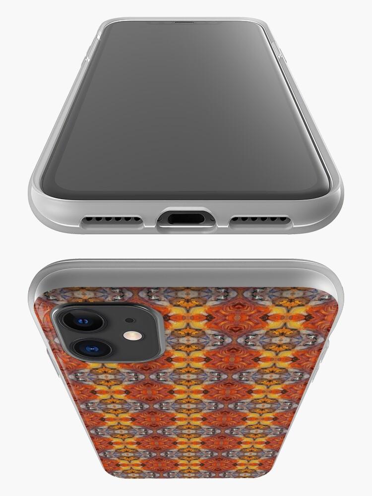 Alternate view of Golden Garden of Delights iPhone Case & Cover