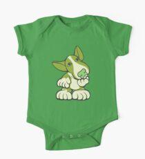 Pondering EBT Cartoon Green Kids Clothes